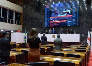 Deputados votam vetos de Zema