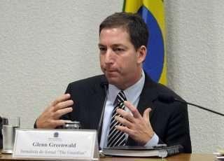 O jornalista Glenn Greenwald, do The Intercept, reagiu às declarações do presidente e disse que Brasil não vive ditadura- Senado Federal/Divulgação