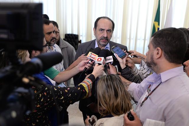 Oposição vai tentar usar chuvas em BH para tentar abalar imagem de bom gestor do prefeito Alexandre Kalil. Foto Guilherme Dardanhan/ALMG