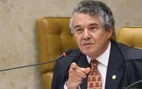 Ministro Marco Aurélio Mello, do STF, sugere aparelho de mordaça para conter destempero verbal do presidente Bolsonaro. Foto-STF-Divulgação