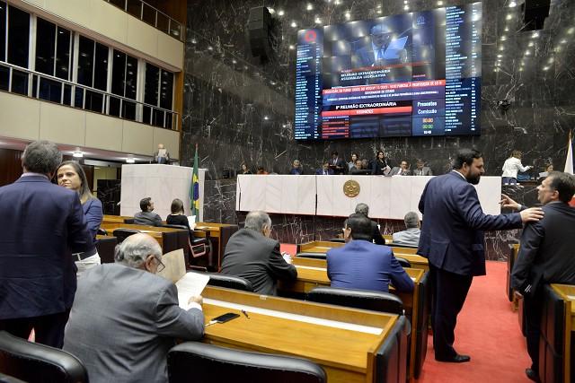 Decisão sobre privatização de empresas estatais terá que passar pelo plenário da Assembleia Legislativa. Foto - Sarah Torres/ALMG