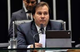 Deputado Rodrigo Maia usou avião da FAB para se deslocar com a família. Foto - Câmara dos Deputados/Divulgação