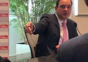 Presidente da Fiemg, Flávio Roscoe. Foto - Além do Fato