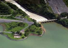 Usina Hidrelétrica de Três Marias, uma das que pertence à Cemig. Foto - Cemig/Divulgação