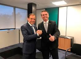 Aliados na disputa presidencial de 2018, o governador João Dória e o presidente Bolsonaro antecipam debate sobre eleição de 2022. Foto - Agência Brasil