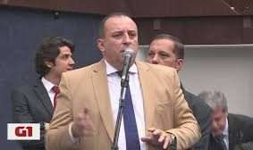Vereador Wellington Magalhães (DC) é investigado por improbidade administrativa e corre risco de perder o mandato. Foto - G1-Reprodução