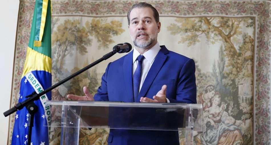 Presidente do Supremo Tribunal Federal (STF), ministro Dias Toffoli - Foto - Rosinei Coutinho/STF