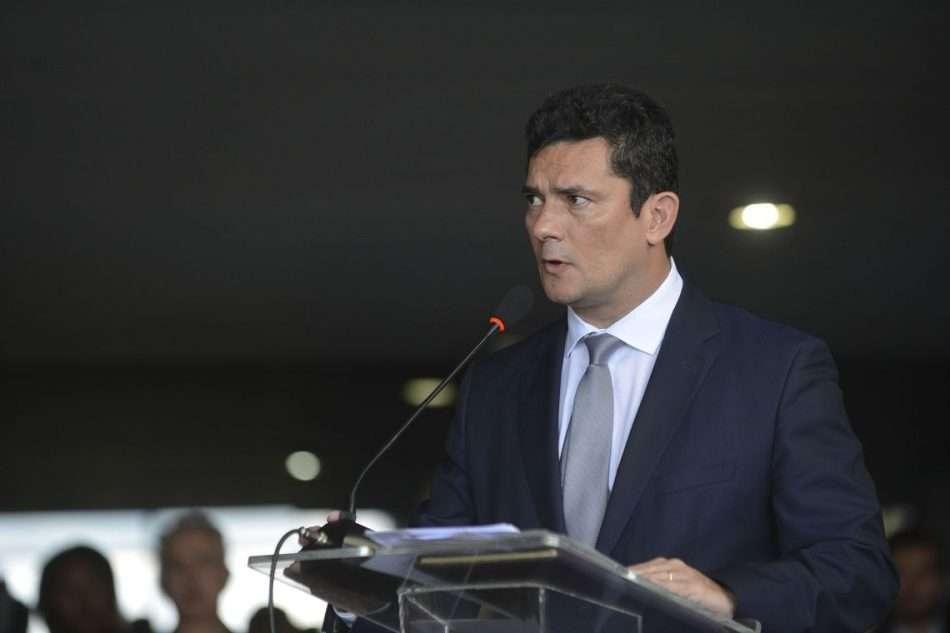 Ministro Moro, com campanha, pressiona Congresso a aprovar seu pacote anticrime - Foto - Marcello Casal jr/Agência Brasil