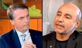 Família do presidente Bolsonaro volta a ser assombrada pelo ex-assessor Fabrício Queiroz, que aparece em áudio falando de indicações para cargos no Congresso Nacional. Fotos - Agência EBC (esq.)-SBT-Reprodução (dir.)