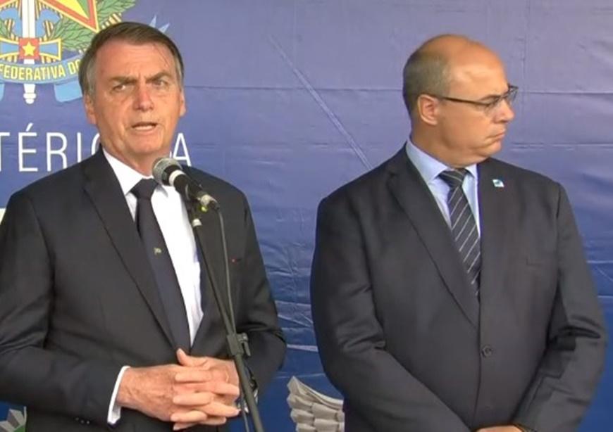 Presidente Bolsonaro responsabiliza governador Wilson witzel (RJ) por vazar informação que o envolve no assassinato da vereadora Marielle Franco