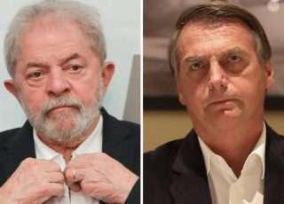 Presidente Bolsonaro (dir.) terá mais dores de cabeça pela frente: CPI da Covid, que começou os trabalhos no Senado, e o ex-presidente Lula, que recuperou seus direitos políticos