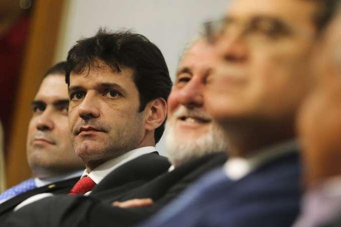 O ministro do Turismo, Marcelo Álvaro Antônio, sofre forte pressão para renunciar antes do depoimento no Senado, marcado para o próximo dia 22. Foto - Valter Campanato/Agência Brasil)