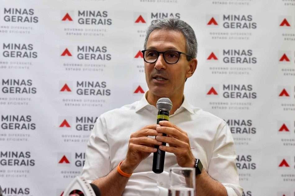 O governador Romeu Zema (NOVO) considera que o golpe militar de 1964 trouxe resultados positivos para o país na área econômica. Foto - Agência Minas
