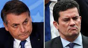 Pesquisa mostra que, em eventual disputa na eleição de 2022, Bolsonaro e Sérgio Moro estariam tecnicamente empatados num segundo turno. Fotos - Agência Brasil