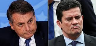 Ministro Sérgio Moro (dir.), assim como fez o presidente Bolsonaro, está intensificando sua presença nas redes sociais. Fotos - Agência Brasil
