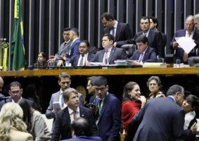 Sessão do Congresso Nacional de ontem à noite, quando foi aprovado fundo eleitoral de R$ 2 bilhões para as eleições municipais do próximo ano. Foto - Agência Câmara