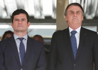 Ministro Sérgio Moro tem aprovação muito acima do presidente Bolsonaro, conforme pesquisa do instituto Datolha. Foto - Agência Brasil