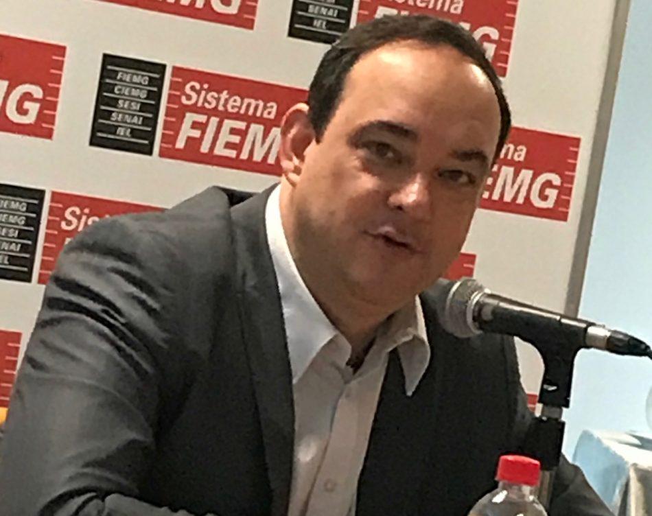 Bastante otimista, presidente da Fiemg, Flávio Roscoe, prevê crescimento do PIB em 2020 de, no mínimo, 3%. Foto - Além do Fato