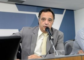 Defensores da candidatura de Mauro Tramonte à prefeitura de BH querem o apoio do presidente Bolsonaro. Foto - Flávia Bernardo/ALMG
