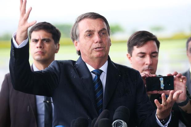 Presidente Jair Bolsonaro inicia campanha para que eleitor não vote em candidatos que usarem recursos do fundo eleitoral. Foto - Antonio Cruz/Agência Brasil