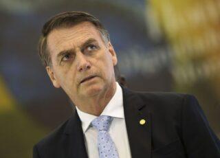 Presidente Jair Bolsonaro deve sobrevoar amanhã municípios mineiros atingidos pelas chuvas. Foto - Marcelo Camargo/Agência Brasil