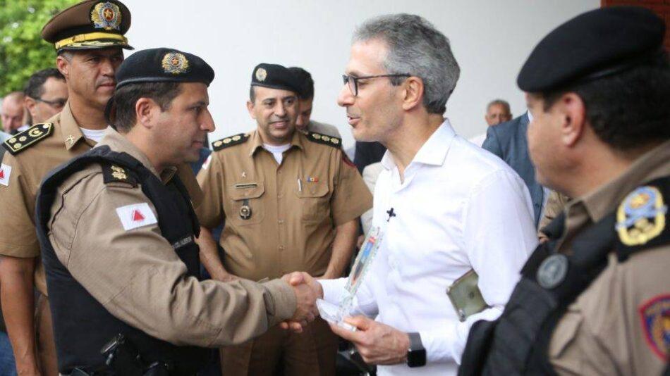 Expectativa das forças de segurança é que o governador Romeu Zema sancione projeto que concede aos servidores da área aumento de 42%. Foto - Pedro Gontijo-Agência Minas