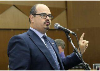 O vereador Mateus Simões (Novo) vai substituir Bilac Pinto na articulação política do governo. Foto - CMBH