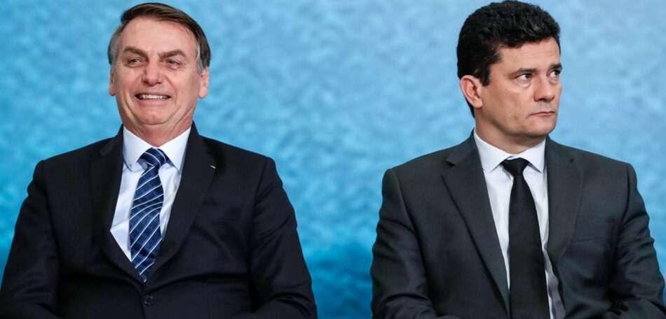 Presidente quer demitir diretor da Polícia Federal e Moro ameaça pedir demissão. Foto - Alan Santos - Presidência da República