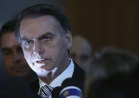 Presidente Jair Bolsonaro está furioso com STF, que investiga a indústria das fake news. Foto - Agência Brasil