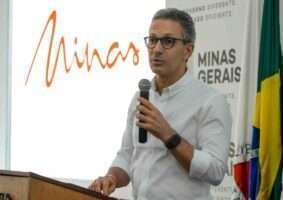 Governador Romeu Zema espera ajuda do governo federal para Minas superar crise. Foto - Facebook - Reprodução
