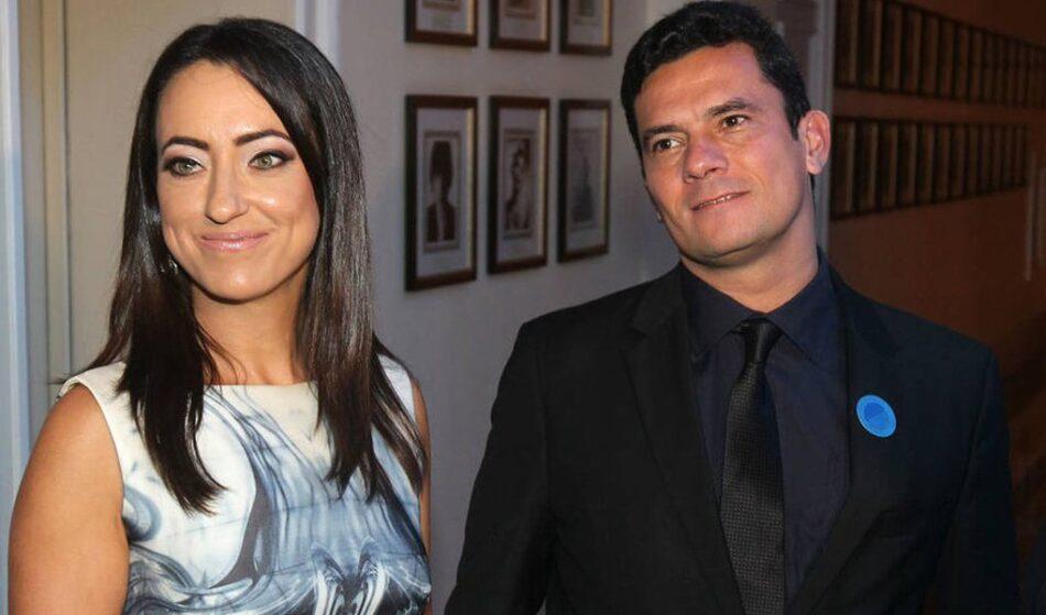 Advogada Rosângela Moro e ex-juiz Sérgio Moro estariam na mira da Polícia Federal, chefiada por ele até pouco tempo atrás. Foto - redes sociais