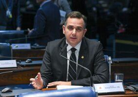 Senador Rodrigo Pacheco articula movimento de oposição ao prefeito Alexandre Kalil - Foto - Senado Federal