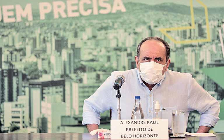 Prefeito Alexandre Kalil não deve participar de debates no primeiro turno das eleições. Foto - Amira Hissa - PBH