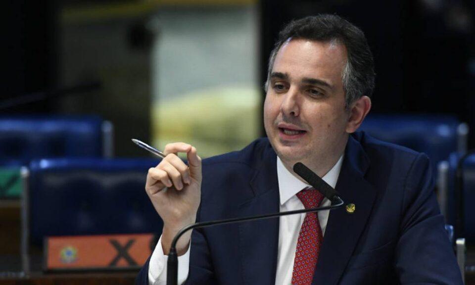 Senador Rodrigo Pacheco (DEM) está muito próximo de conquistar presidência do Senado - Foto - Marcos Oliveira-Agência Senado