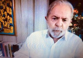 Se recuperar seus direitos políticos, Lula admite disputar presidência em 2022. Foto - UOL - reprodução